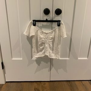 Tops - BP white off the shoulder top